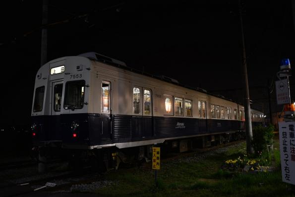 2013年4月17日 上田電鉄別所線 下之郷 7200系7253F