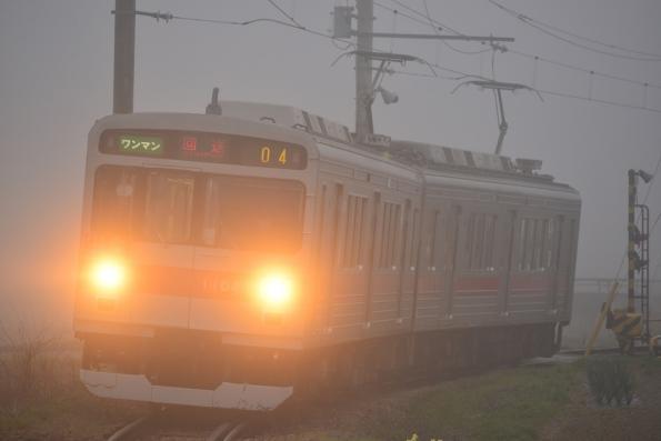 2013年4月18日 上田電鉄別所線 八木沢~別所温泉 1000系1004F