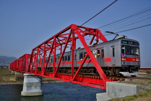 2013年4月18日 上田電鉄別所線 城下~上田 1000系1004F