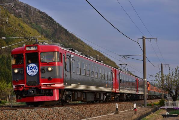 2013年4月29日 しなの鉄道線 千曲~屋代 169系S53+S52+S51