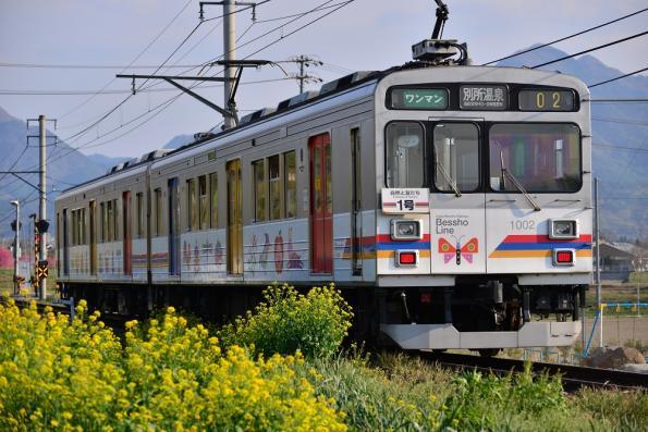 2013年5月5日 上田電鉄別所線 寺下~神畑 1000系1002F