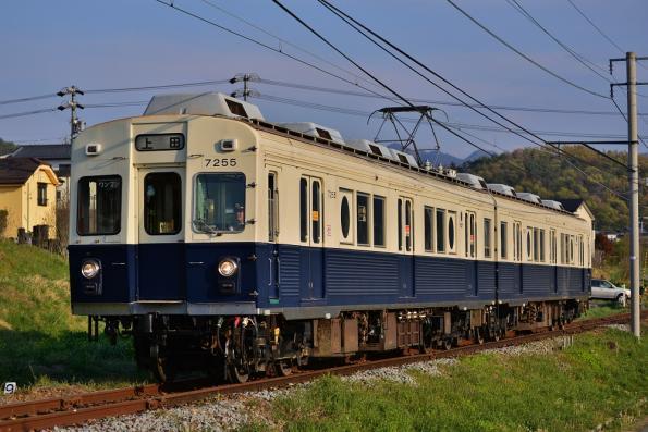 2013年5月5日 上田電鉄別所線 神畑~寺下 7200系7255F