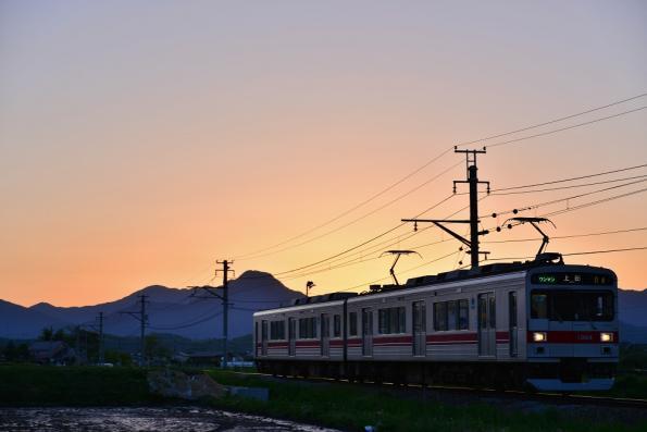 2013年5月24日 上田電鉄別所線 中塩田~下之郷 1000系1004F