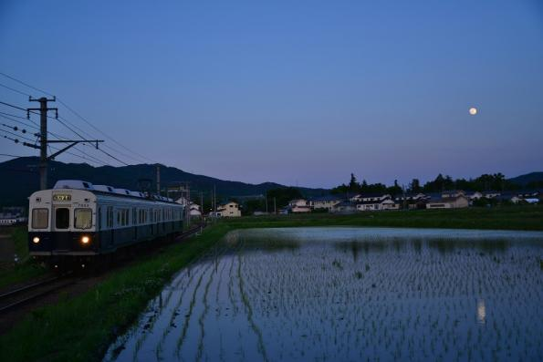 2013年5月24日 上田電鉄別所線 下之郷~中塩田 7200系7253F
