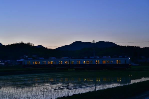 2013年5月24日 上田電鉄別所線 八木沢~舞田 7200系7253F