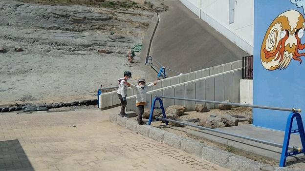 アンモナイトセンター(化石発掘体験)2013,4,14、①