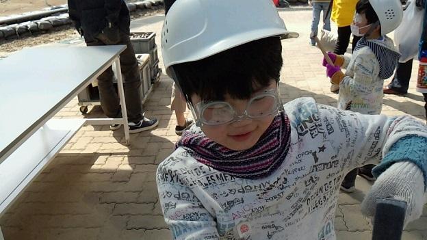 アンモナイトセンター(化石発掘体験)2013年4月14日⑦