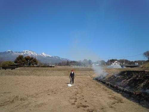 芝焼き2013.3.14