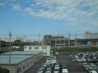 京葉線からデルタ線付近