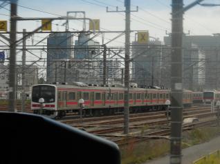 京葉線から先代の車両