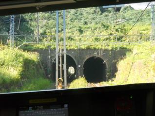 開通当初からのトンネル