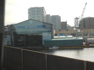 京葉線から運河