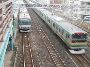 相鉄10000系&E231系
