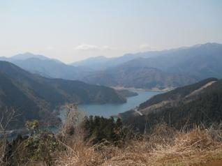 南山頂上からの眺め