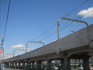 小田急の高架線