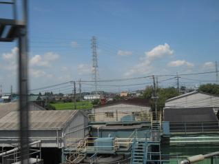 武蔵野線車窓