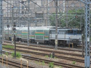 EF65-1093+グリーン車×4