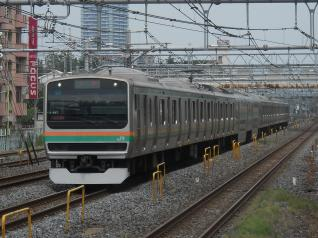 E231系ヤマU-587編成