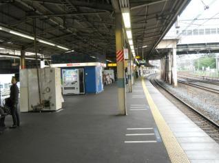 川口駅ホーム