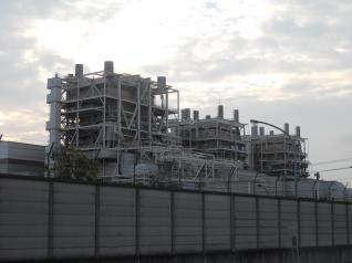 南横浜火力発電所ボイラー