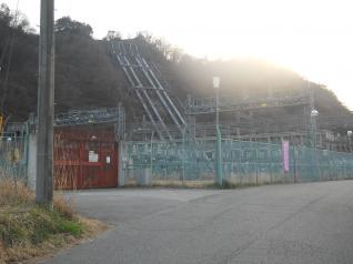 八ッ沢発電所変電設備