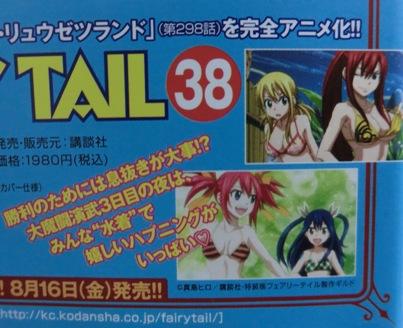 フェアリーテイル コミックス第37巻2