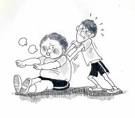 子どものイラスト②55xcf