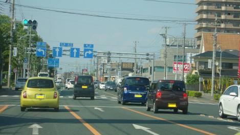 浜松市外の様子をデジカメ写真撮影で撮った
