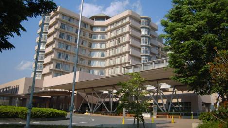 静岡がんセンターは「37歳で医者になった僕~」のロケ地をデジカメで撮影した