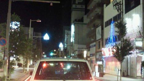 8月の猛暑の夜に三島市のパブへ出かけた時のシャメ写真撮影です