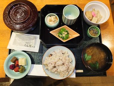 11玄米雑穀ヘルシー京朝食0321