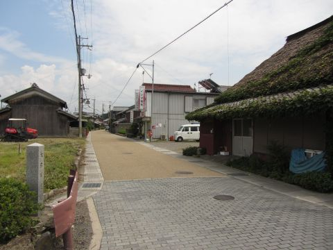 旧東海道 土山町市場