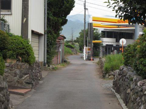 旧東海道 土山町頓宮・前野