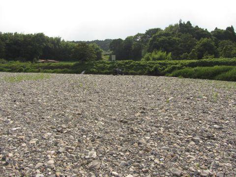 松尾川の渡し跡