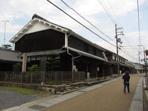 土山宿本陣跡