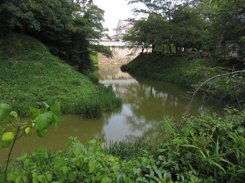 水口城水堀
