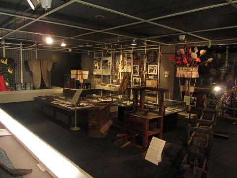 水口歴史民俗資料館展示