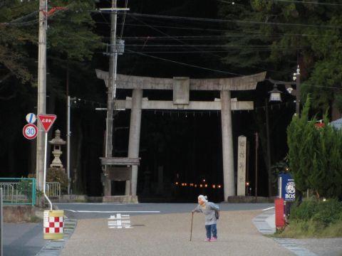 田村神社境内入口