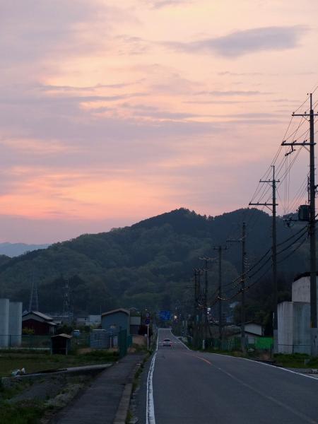 夜明け吉野へ