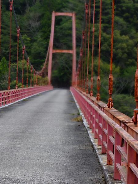 補給食切れ吊り橋