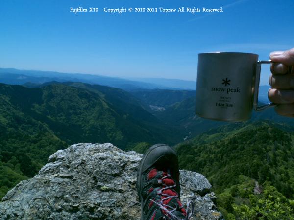 山上ヶ岳027鐘掛岩