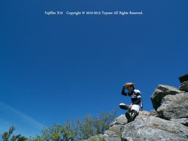 山上ヶ岳026鐘掛岩
