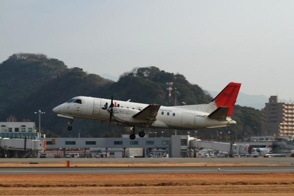 3X SAAB-340B JA8888 RJOM 140201 007