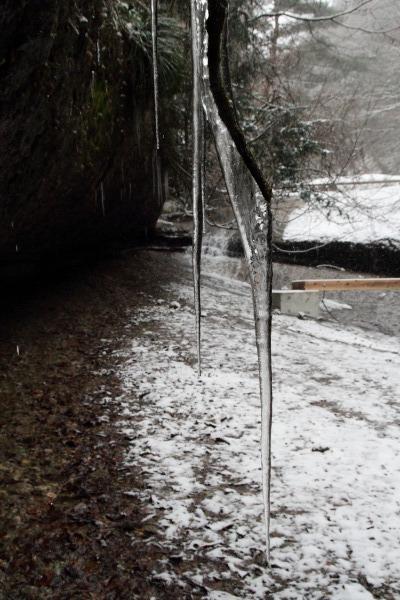 滑川渓谷・降雪 140206 07
