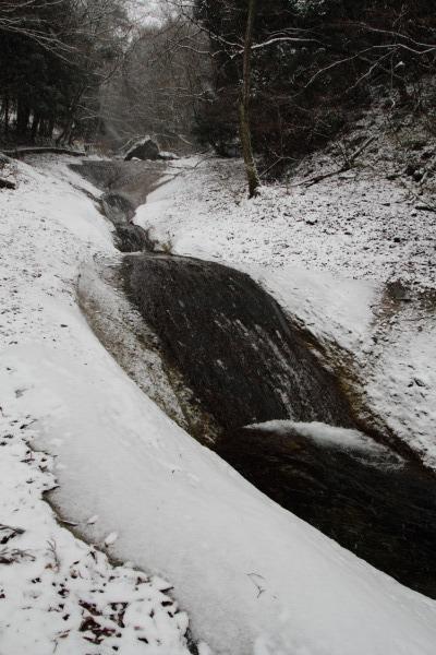 滑川渓谷・降雪 140206 11