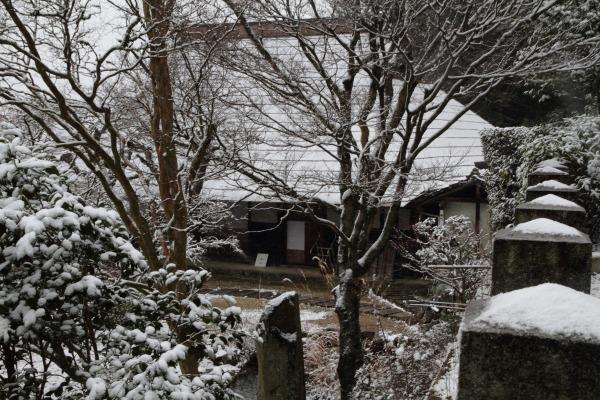 惣河内神社一畳庵・降雪 140206 05