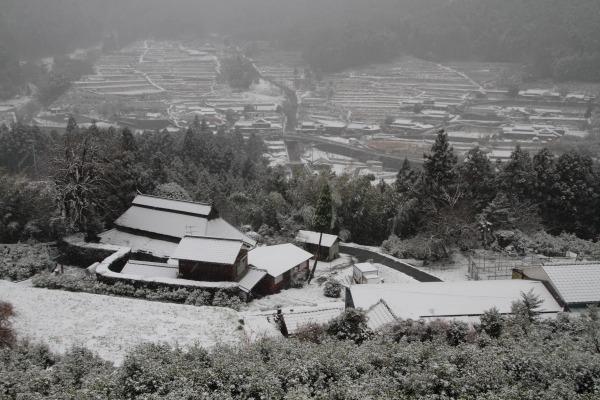 河之内大屋敷・降雪 140206 01