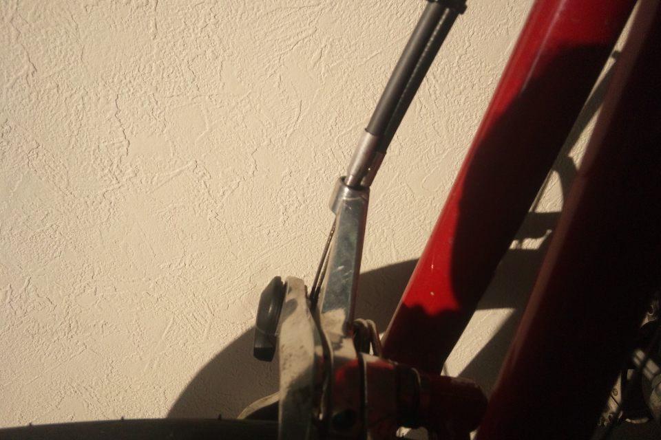 自転車の 自転車 ブレーキレバー 調整 方法 : 暇人の今更ですが・・・自転車 ...