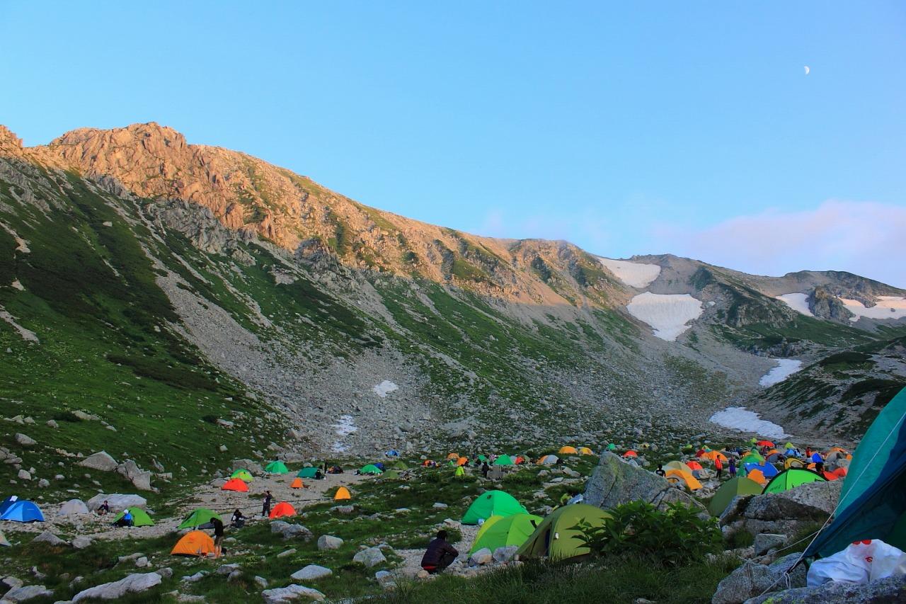 2013年8月14~15日 剱岳_073