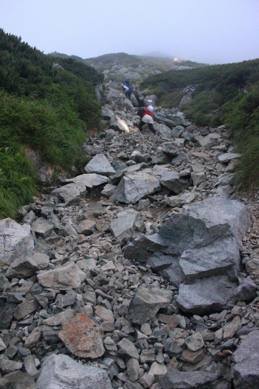 2013年8月14~15日 剱岳_081